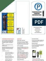 ParkMedford Parking Brochure