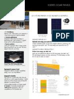 Ds x21 Series 335 345 Residential Solar Panels Datasheet