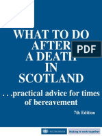 0025575 Death in Scotland
