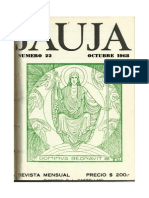 Revista Jauja -22- Octubre 1968 -Leonardo Castellani
