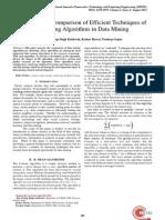 Analysis&ComparisonofEfficientTechniquesof