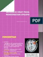 Interaksi Obat Pada Pengobatan Epilepsi