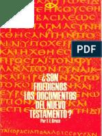 ¿Son Fidedignos Los Documentos Del Nuevo Testamento- FF.bruce_Gracia