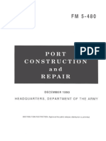 Army - fm5 480 - Port Construction and Repair