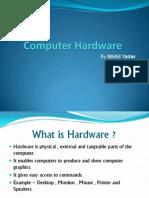 IGCSE Computer - Hardware