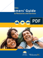 British Columbia Newcomers Guide En