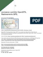Montando Servidor OpenGTS, Rastreamento GPS. | Powered Linux :-)