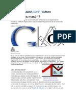 Google y la masonería