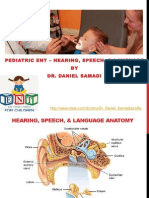 Dr Daniel Samadi - Hearing, Speech, and Language