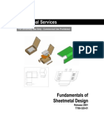 Fundamentals of Sheetmetal Design