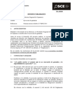 036-14 - GOB REG CAJAMARCA - Ejecución de Garantías