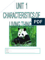 Unit Living Things PDF
