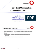 OptimizationProcessUMTS DT