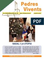PEDRES VIVENTS 129 DESEMBRE 2014