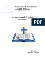 La Apostasía de La Iglesia