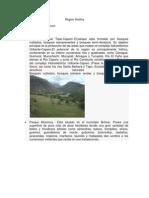 Region Andina Estudiar