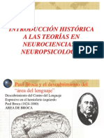 Introducción Histórica a Las Teorías en Neurociencias - Neuropsicología