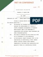 1988-89 cabinet paper 6278