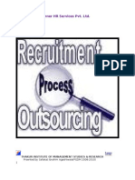 Project report on Scope of Recruitment Process outsourcing