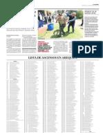 Ascienden más de 451 efectivos de la Policía Nacional en Arequipa