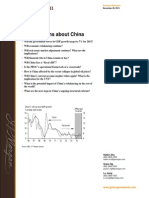 JP Morgan Special Report on China 2015