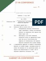 1988-89 cabinet paper 6548