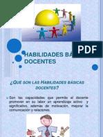 HABILIDADES BÁSICAS DOCENTES