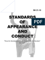 Army - sh 21-10 - Standards of Appearance and Conduct