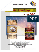 Army - TRADOC G2 Handbook No  1 03 - Suicide Bombing in the COE