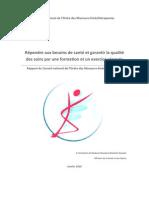 Esoinsdesanteparuneformationrenovee Rapport Final Vcp 1