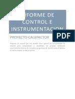 Informe de Contro e Intrumentacion de calefactor labview