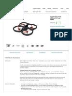 Cuadricóptero Parrot AR.drone 2