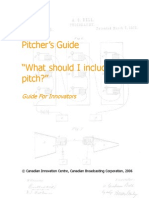 Pitchers Guide What Should I Include in My Pitch