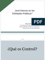 MATERIAL Control Interno EntidadesPublicas RosaUrbina