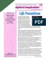 Keryn Lee Newsletter - January 2015