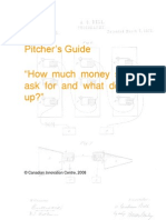 Pitchers Guide How Much Should I Ask for and What Do I Give Up