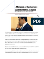 161437560 Lebanese Member of Parliament Directing Arms Traffic to Syria