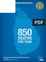 Drowning Prevention Report, Sri Lanka 2014