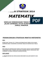 Pelan Strategik Matematik 2014