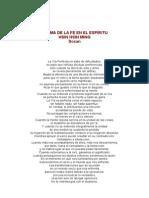 Poema de La Fe en El Espiritu