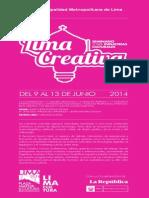 Programa Limaa Creativa Final 3