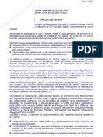 LOI N° 2004-009 du 26 juillet 2004 portant sur le code des marchés publics de madagascar