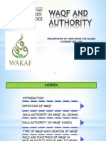 Waqf and authority in Malaysia
