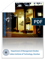 DoMS IITR PlacementReport Executive 2014