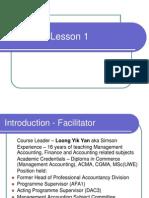 Lesson 1 dm
