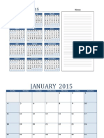 2015 Calendar AQ Formated