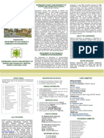 Brochure NCAECT 2015