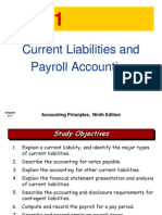 ch11 Current Liabilities and Payroll Accounting