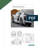 R8 GT Wing - Install Instructions - MASTER
