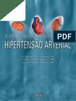 V Diretrizes Brasileira Hipertensao Arterial 2006